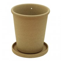 the place(ザプレイス)HASAMI POTTERY FLOWER POT 砂岩TALL(植木鉢)