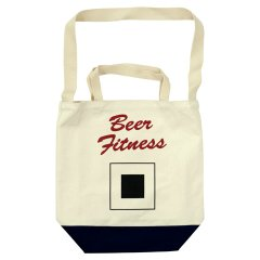 TACOMA FUJI RECORDS(タコマフジレコード)Beer Fitness TOTE by Tomoo Gokita
