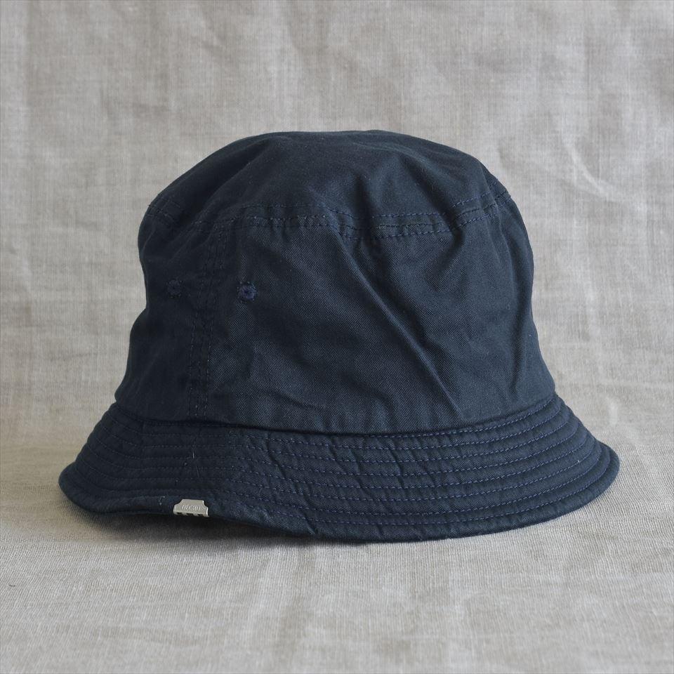 DECHO(デコー)BUCKET HAT ネイビーチノ - Lifetime 6334d9aff70