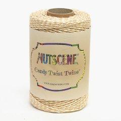 イギリスNutscene(ナッツシーン)キャンディーツイスト(コットン)アプリコット/ホワイト
