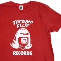 TACOMA FUJI RECORDS (タコマフジレコード)15 LOGO T-shirt レッド [9th Collection]