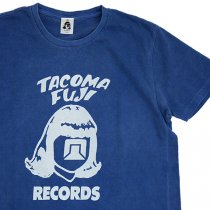 TACOMA FUJI RECORDS (タコマフジレコード)15 LOGO T-shirt ブルー [9th Collection]
