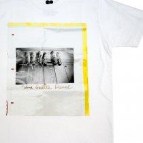 ULTRAHEAVY(ウルトラヘビー)KIKI + パームグラフィックス「脱ぎっぱなしのブーツ」Tシャツ