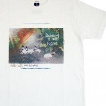 ULTRAHEAVY(ウルトラヘビー)KIKI + パームグラフィックス「羊とハット」Tシャツ(レディースサイズ)