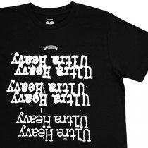 ULTRAHEAVY(ウルトラヘビー)ロックンロールTシャツ|ブラック