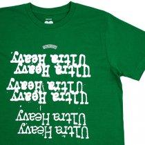 ULTRAHEAVY(ウルトラヘビー)ロックンロールTシャツ|グリーン
