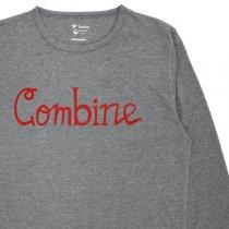 HARVESTA!HABICOL(ハーベスタ!ハビコル)スコーロン防虫速乾Tシャツ(長袖)グレー「Combine」