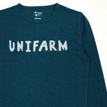 HARVESTA!HABICOL(ハーベスタ!ハビコル)スコーロン防虫速乾Tシャツ(長袖)ネイビー「UNIFARM」