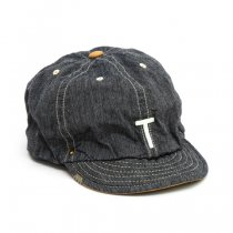 DECHO(デコー)BEAT BASE BALL CAP -ANACHRONORM- 「T」カラー1