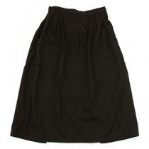 Napron Wardrobe(ナプロンワードローブ)APRON SKIRT ブラック