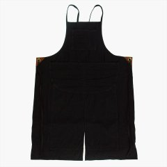 UTO(ユート)M-71 DOUBLE KNEE WORK APRON ブラック