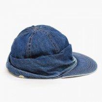 DECHO(デコー)MOUNTAIN CAP(シルケットデニム)ウォッシュドインディゴ