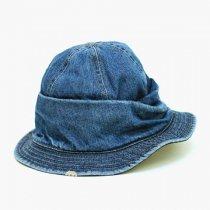 DECHO(デコー)MOUNTAIN HAT(シルケットデニム)ウォッシュドインディゴ