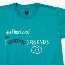 ULTRAHEAVY(ウルトラヘビー)authorized = U.H friends Tシャツ ライトブルー