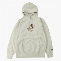 TACOMA FUJI RECORDS(タコマフジレコード)Mountain Mouse Syndicate Hoodie (12oz) オートミール