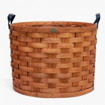 Peterboro Basket(ピーターボロバスケット)ランドリーバスケットL