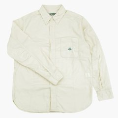 SASSAFRAS(ササフラス)Green Thumb Shirt ナチュラル(コーデュロイ)