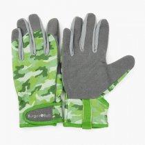 イギリスBurgon & Ball(バーゴン&ボール)グローブ Dig The Glove Green Camo