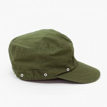 DECHO(デコー)JUNGLE CAP カーキ