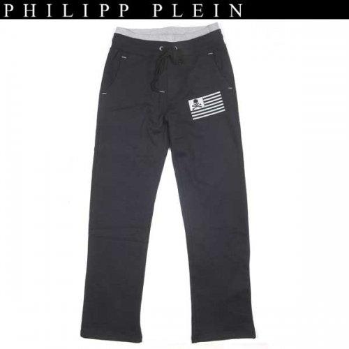 【送料無料】 フィリッププレイン(PHILIPP PLEIN) メンズ スカル スウェット パンツ HM631186 0210  14S