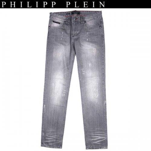 【送料無料】 フィリッププレイン(PHILIPP PLEIN) メンズ クラッシュジーンズ デニム