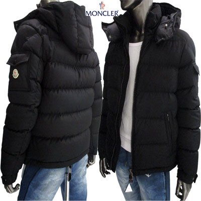 <img class='new_mark_img1' src='//img.shop-pro.jp/img/new/icons15.gif' style='border:none;display:inline;margin:0px;padding:0px;width:auto;' /> モンクレール(MONCLER) メンズ MONTGENEVER モンジュネーブル ロゴ付ダウンジャケット 4033805 54272 999 91A