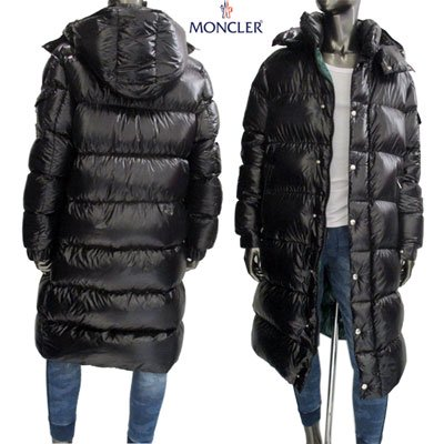 <img class='new_mark_img1' src='//img.shop-pro.jp/img/new/icons15.gif' style='border:none;display:inline;margin:0px;padding:0px;width:auto;' /> モンクレール(MONCLER) メンズ HANOVERIAN ロゴ付きロングダウンコート ロング コート 4236105 C0081 999 91A
