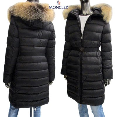 <img class='new_mark_img1' src='//img.shop-pro.jp/img/new/icons15.gif' style='border:none;display:inline;margin:0px;padding:0px;width:auto;' />MONCLER モンクレール レディース  TINUV フード・ベルト付きロング丈ダウンコート  4934220 C0060 999 91A