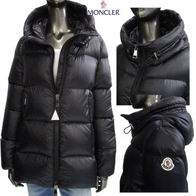 <img class='new_mark_img1' src='//img.shop-pro.jp/img/new/icons15.gif' style='border:none;display:inline;margin:0px;padding:0px;width:auto;' /> モンクレール(MONCLER) レディース SERITTE セリッテ アームロゴ付ダウンジャケット SERITTE ロゴ ショート丈 4696949 C0151 999 91A