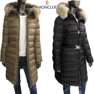 <img class='new_mark_img1' src='https://img.shop-pro.jp/img/new/icons3.gif' style='border:none;display:inline;margin:0px;padding:0px;width:auto;' />モンクレール(MONCLER)レディース TINUVIEL 2color フォックスファー・バックルベルト付ダウンコート 4933020 57869 266/999 (R333300)EC91A