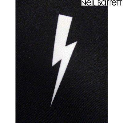 ニールバレット(Neil Barrett) メンズ アウター ジャケット ロゴ リバーシブル着可 リバーシブルサンダーボルトロゴ付きジップジャケット PBSP297S L015C 524