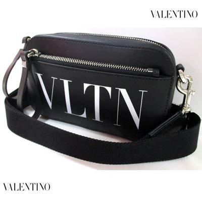 ヴァレンティノ(VALENTINO) メンズ 鞄 バッグ ロゴ ユニセックス可 VLTNロゴプリント・ショルダーストラップ付レザーミニショルダー VY2B0954 WJW 0NI