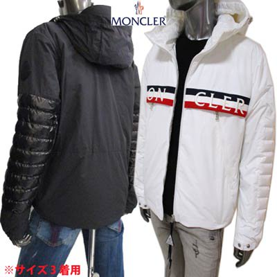<img class='new_mark_img1' src='https://img.shop-pro.jp/img/new/icons1.gif' style='border:none;display:inline;margin:0px;padding:0px;width:auto;' />モンクレール MONCLER メンズ アウター ジャケット OLARGUES トリコロール/刺繍ロゴ・アーム/ジップ部分ロゴ付きジャケット 1B50A00 54A91 034/998