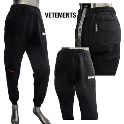 ヴェトモン(VETEMENTS) メンズ パンツ ボトムス スウェットパンツ トラックパンツ BOSE・VETEMENTS刺繍入りスウェットパンツ SSTR385 1624
