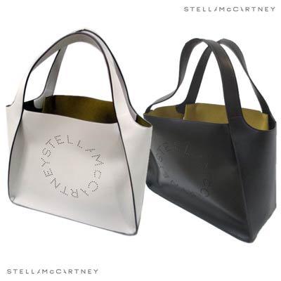 ステラマッカートニー(STELLA McCARTNEY) レディース 鞄 バッグ トートバッグ パンチングレザー・ミニポーチ付レザードート 502793 W8542 9000/1000