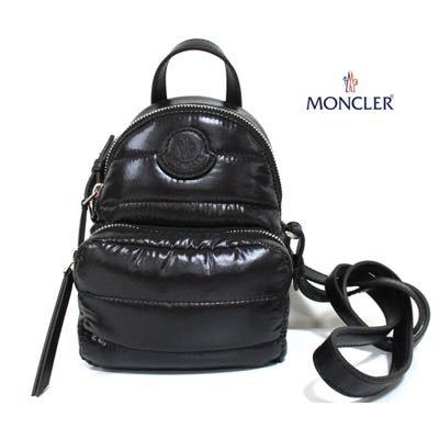 モンクレール(MONCLER) レディース 鞄 バッグ ショルダーバッグ ロゴワッペン付2wayミニショルダーバッグ 5L60000 68950 999
