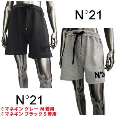 <img class='new_mark_img1' src='https://img.shop-pro.jp/img/new/icons1.gif' style='border:none;display:inline;margin:0px;padding:0px;width:auto;' />ヌメロヴェントゥーノ N°21 メンズ パンツ ボトムス ハーフパンツ 2color 裾部分ロゴワッペン・サイドライン付ハーフスウェットパンツ D041 6315 9000/8993