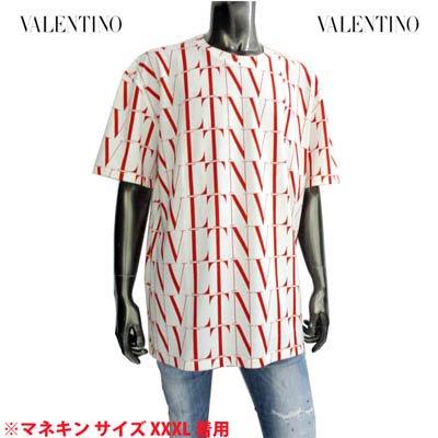 ヴァレンティノ VALENTINO メンズ トップス Tシャツ 総柄VLTNレッドロゴプリント付Tシャツ WV3MG08J 6PE A33<img class='new_mark_img2' src='https://img.shop-pro.jp/img/new/icons2.gif' style='border:none;display:inline;margin:0px;padding:0px;width:auto;' />