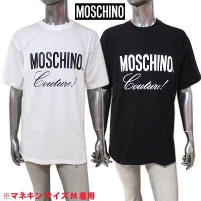 モスキーノ MOSCHINO メンズ トップス Tシャツ 2COLOR Moschino Coutureビッグロゴロゴ付オーバーサイズTシャツ A0710 5240 1002/1555<img class='new_mark_img2' src='https://img.shop-pro.jp/img/new/icons2.gif' style='border:none;display:inline;margin:0px;padding:0px;width:auto;' />