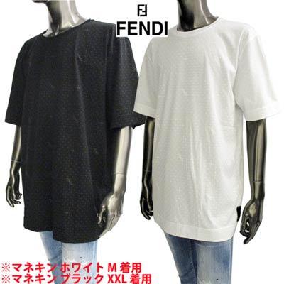 フェンディ FENDI メンズ トップス Tシャツ 半袖 ロゴ 2color ドット/FF/FENDIポップアップロゴ・裾タグ付きTシャツ FY0936 AH0J F0QA0/F0QA1<img class='new_mark_img2' src='https://img.shop-pro.jp/img/new/icons2.gif' style='border:none;display:inline;margin:0px;padding:0px;width:auto;' />
