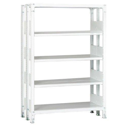 ホワイトラック 軽量書棚(本棚) KU 複式 H1950×W1535×D570(mm)