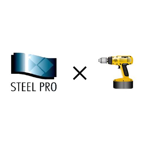 原田鋼業のスチール棚製品の組立施工作業