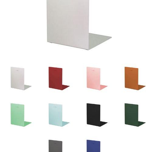 スチール本棚とセットで欲しい「かるーい」アルミ製ブックエンド
