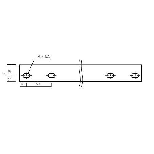 スチール棚板・軽量棚板のサイズ詳細