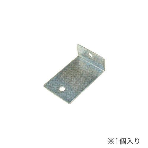 耐震防止金具(床固定金具) アンカーベースプレート 中軽量スチール棚用 1個入りのメイン画像