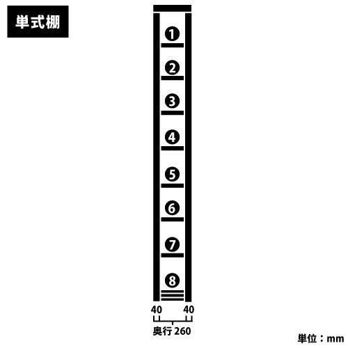 スチール書架(本棚・書棚) 単式 2連結棚 ホワイト色 H2585×W1840×D260(mm) B5対応https://img08.shop-pro.jp/PA01034/592/product/127288776_o2.jpg?cmsp_timestamp=20180117125853のサムネイル