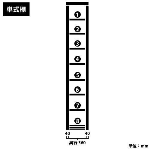 スチール書架(本棚・書棚) 単式 2連結棚 ホワイト色 H2585×W1840×D360(mm) A4横対応https://img08.shop-pro.jp/PA01034/592/product/127402355_o2.jpg?cmsp_timestamp=20180122112714のサムネイル