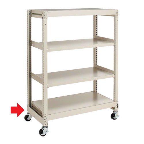 キャスター付きスチール棚の耐荷重についてのメイン画像