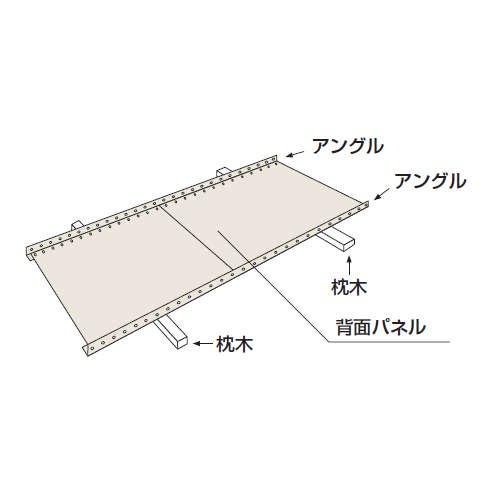 パネル棚(軽量スチール棚)のパネル板を重ねるのメイン画像
