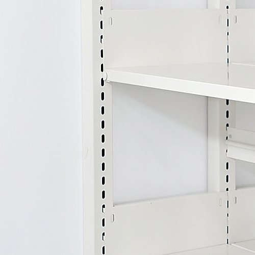 スチール棚板の上下移動する間隔(ピッチ)のメイン画像